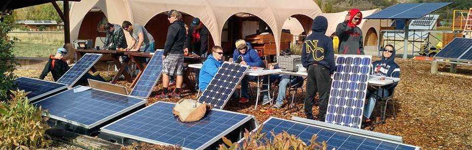 A Community In Transition: SEI's solar PV training offered at local