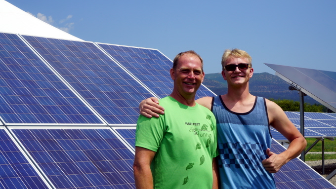 Father/Son Duo Launch Solar Careers with SEI! - Solar Training